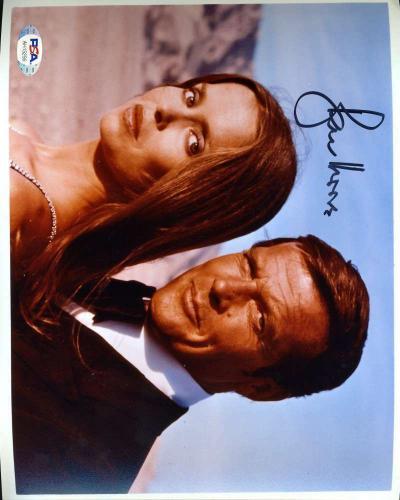 Roger Moore PSA DNA Coa Hand Signed James Bond 8x10 Photo Autograph