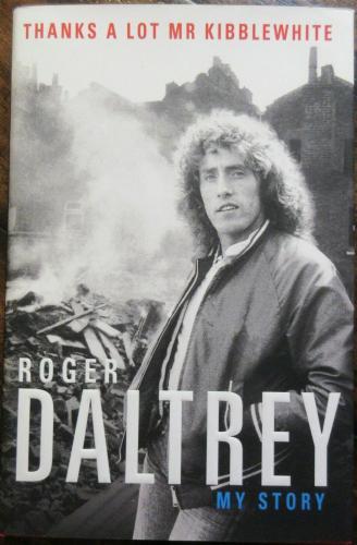 Roger Daltrey Signed Book - JSA