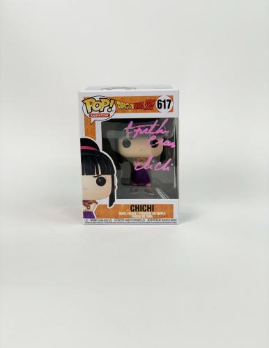 Cynthia Cranz Autograph Funko POP! Dragon Ball Z Chi Chi Signed BAS COA