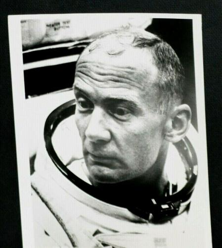 1969 Buzz Aldrin, Apollo 11 Astronaut, Stamp Dated Photograph, 1WK Before Launch