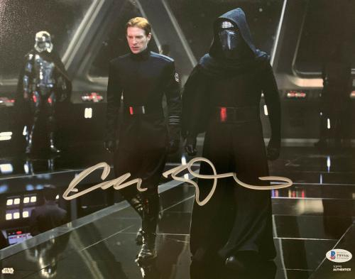Adam Driver Signed Star Wars Jedi, Skywalker 11x14 Photo Kylo Ren Beckett BAS 13