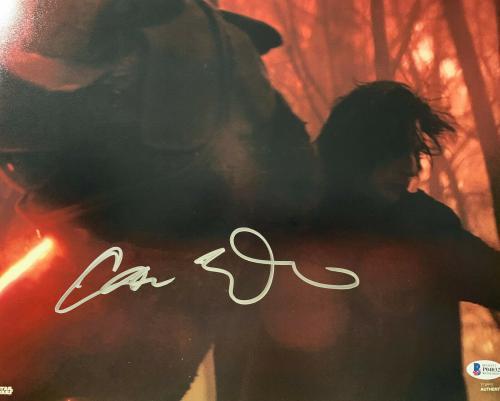 Adam Driver Signed Star Wars Jedi, Skywalker 11x14 Photo Kylo Ren Beckett BAS 12