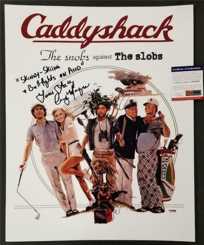 Cindy Morgan signed Caddyshack 16x20 Photo #1 Long Inscription (A) ~ PSA/DNA COA
