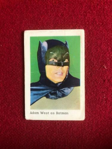 """1966, BATMAN """"Collectors Card""""  (Scarce / Vintage)"""