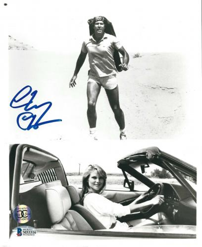 Chevy Chase Signed National Lampoon's Vacation Original 8x10 Photo BAS Beckett