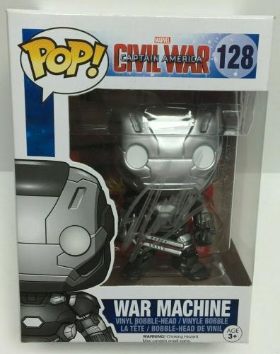 Stan Lee Signed War Machine Marvel Funko Pop #140 Excelsior Approved COA
