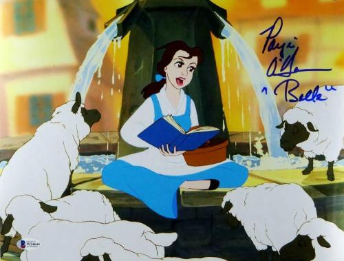 Paige O'Hara Autographed 11x14 Beauty and The Beast Belle Photo- Beckett Auth