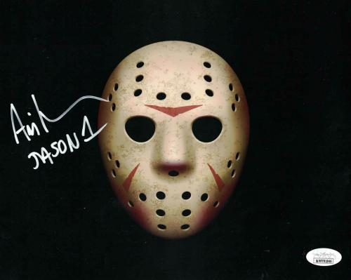 Ari Lehman Autographed/Signed Friday The 13th 8x10 Photo Jason JSA 26216