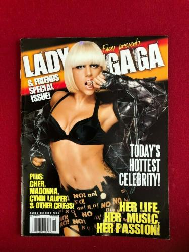 "2010, LADY GAGA, ""Special Issue"" Magazine (No Label) Vintage / Scarce"