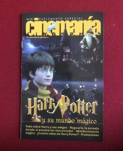 """2001, Harry Potter, """"CINEMANIA""""  Magazine (No Label) Scarce / Vintage(Coca-Cola)"""