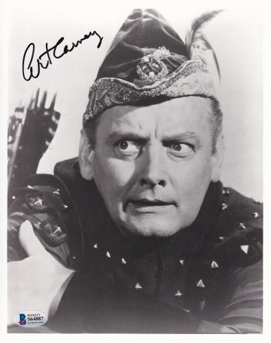 Beckett-bas Batman Art Carney As The Archer Autographed-signed 8x10 Photo S64887