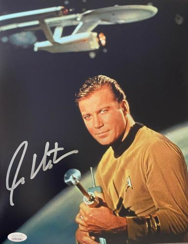 William Shatner Star Trek Signed Autographed 1x14 Photo JSA Authenticated 10