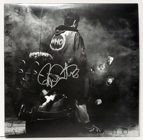 "ROGER DALTREY Signed Autographed The WHO ""Quadrophenia"" Album LP JSA #BB32610"