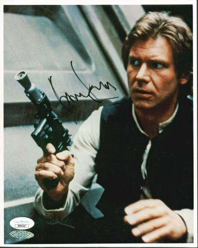 Harrison Ford Star Wars Signed 8x10 Photo Autographed JSA #BB08567