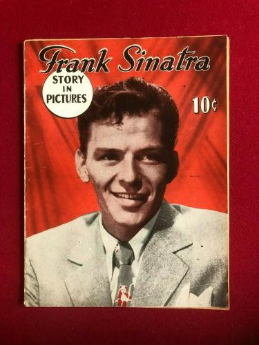 "1945, Frank Sinatra,""Story In Pictures"" Magazine (No Label) Scarce / Vintage"