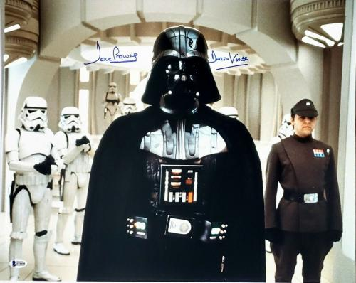 """DAVE PROWSE Signed Autographed """"Darth Vader"""" STAR WARS 16x20 Photo Beckett BAS"""