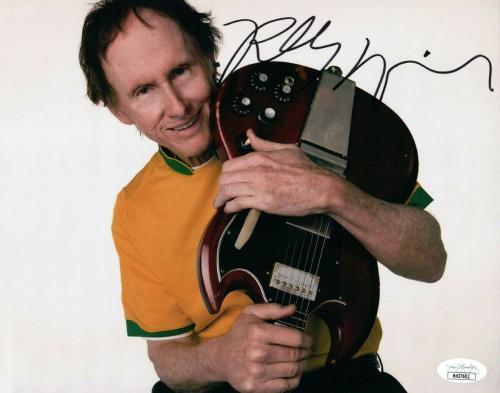 Robby Krieger Signed Autographed 8X10 Photo The Doors w/Guitar JSA HH37602