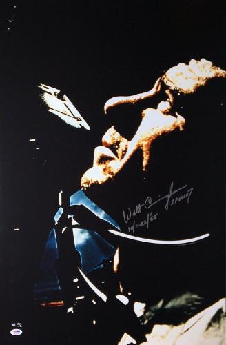 Walt Cunningham Signed 'Apollo 7' 20x30 Photo *Astronaut PSA 4A23090