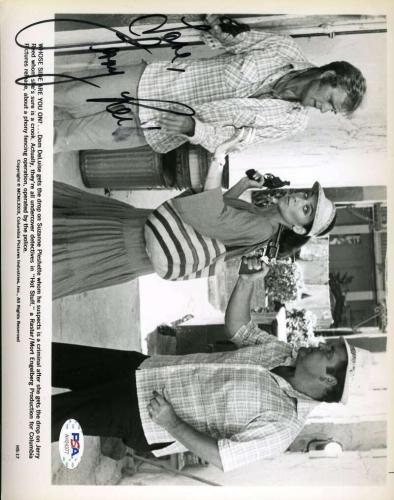 Jerry Reed PSA DNA Coa Hand Signed 8x10 Hot Stuff Photo Autograph