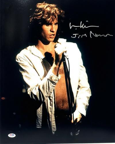 "VAL KILMER Signed Autographed The DOORS Movie ""Jim Morrison"" 16x20 Photo PSA/DNA"