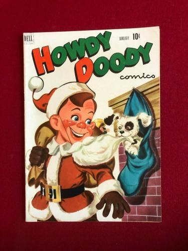 "1952, Howdy Doody, ""DELL"" Comic Book  No. 13  (Scarce / Vintage)"