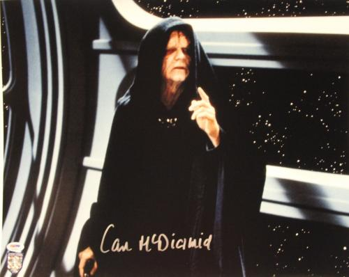 "IAN McDIARMID Signed STAR WARS ""Emperor"" 16x20 Photo Official Pix PSA/DNA A34200"