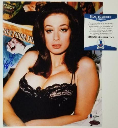 Valerie Leon Signed 8x10 Photo #2 THE SPY WHO LOVED ME Auto ~ Beckett BAS COA