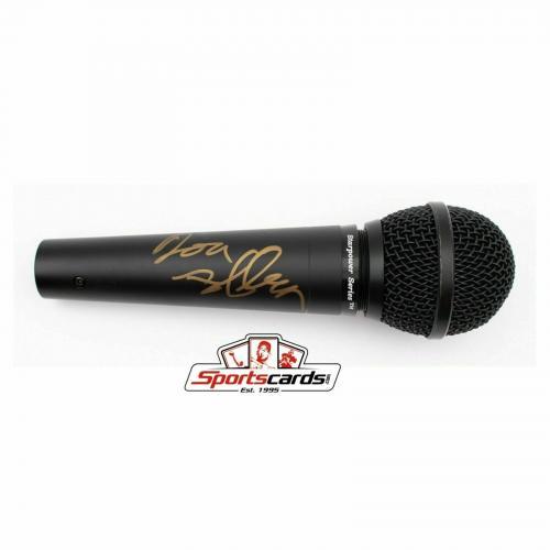 Don Felder Signed Microphone The Eagles Singer Songwriter BAS Beckett Auto