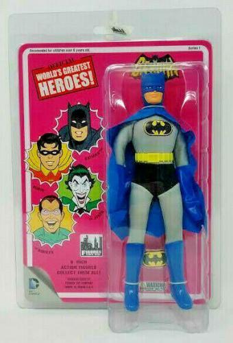 Retro Batman - Series 1 World's Greatest Heroes 8 inch Action Figures