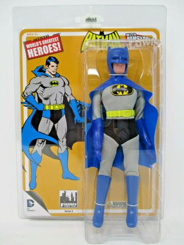 Retro Batman Removable Cowl - Series 3 World's Greatest 8 inch Action Figures
