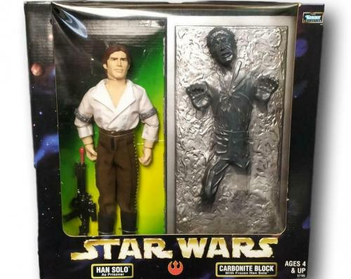 Star Wars Collector Series Han Solo Prisoner & Carbonite Block Figurine NIB