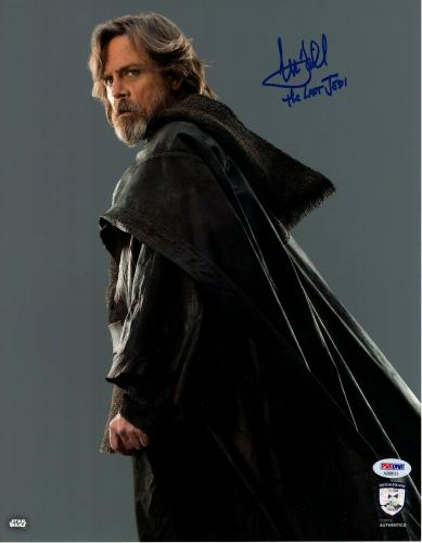 MARK HAMILL Signed STAR WARS Official Pix 11x14 Photo Graded PSA/DNA 10 #AD68513