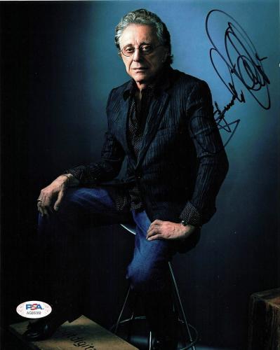 Frankie Valli  HAND SIGNED 8x10 Photo Autograph Jersey Boys Sherry December 63 B