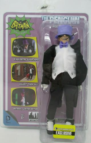 Batman 66 Retro PENGUIN Action Figure~ Classic TV Series ~ Entertainment Earth