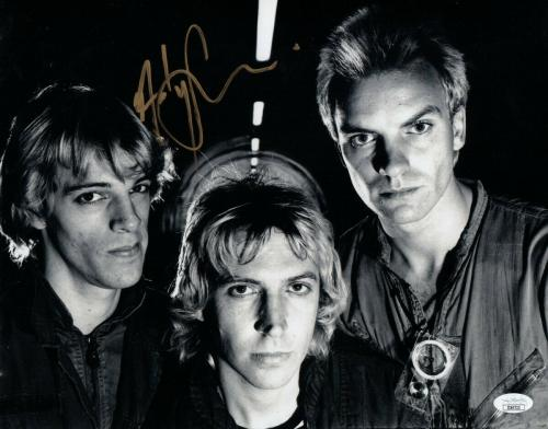 Andy Summers Signed Autographed 11x14 Photo The Police Group Shot JSA II60722