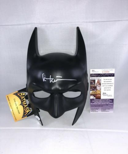 Val Kilmer Signed Batman Mask Bas Beckett Batman Forever Bruce Wayne
