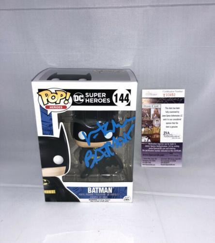 Val Kilmer Signed Dc Super Heroes Batman Funko Pop Jsa Batman Inscription 2
