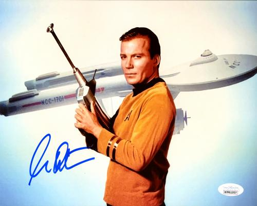 William Shatner Autographed 8x10 Photo Star Trek JSA Stock #178302