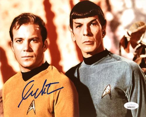 William Shatner Autographed 8x10 Photo Star Trek JSA Stock #178307