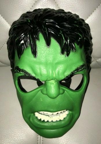 2011 Hasbro Marvel Youth The Incredible Hulk Mask Helmet Halloween Very Cool A