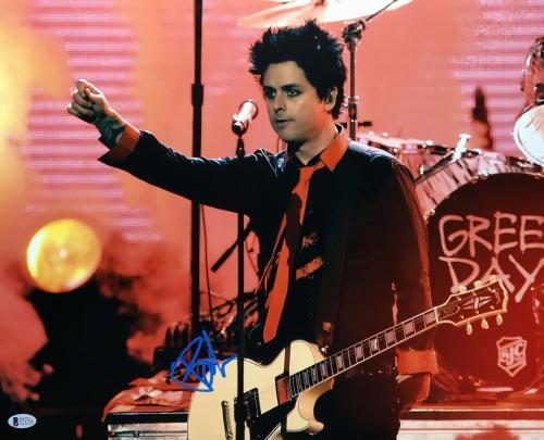 Billie Joe Armstrong Signed 16x20 Photo *Green Day *American Idiot BAS E51528
