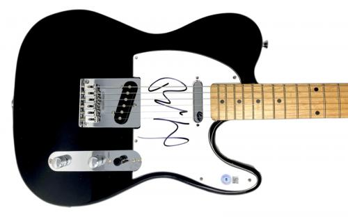 Billy Idol Signed Autographed Electric Guitar Generation X Beckett BAS COA