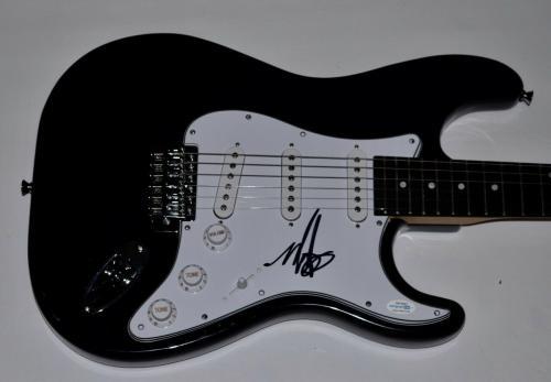 Mark Hoppus Signed Autographed Electric Guitar BLINK 182 ACOA COA