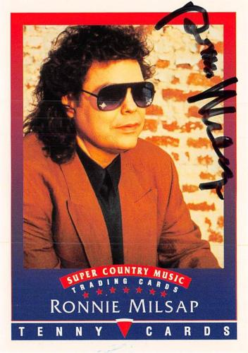 Autographed Ronnie Milsap Memorabilia Signed Photos Other Items