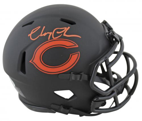 Chevy Chase Christmas Vacation Signed Eclipse Speed Mini Helmet BAS Witnessed