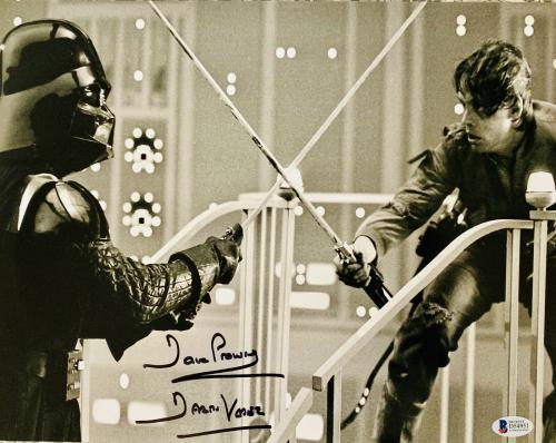 Dave David Prowse Signed Star Wars Darth Vader 11x14 Photo Beckett BAS 16