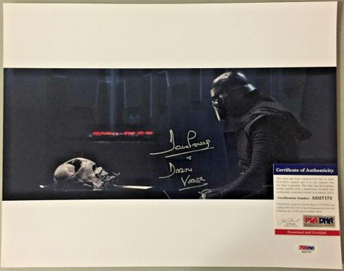 Dave David Prowse Signed Star Wars Darth Vader 16x20 Photo PSA DNA 22
