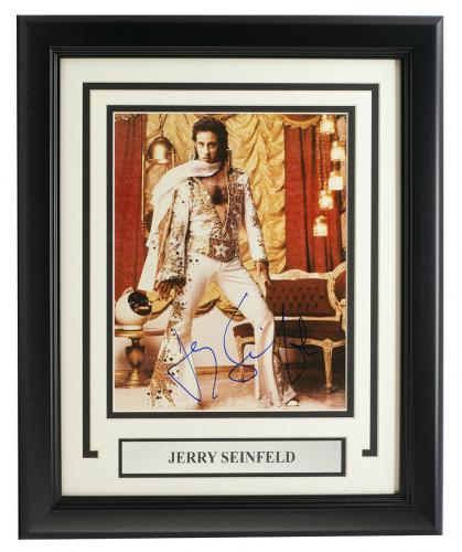 Jerry Seinfeld Signed Framed 8x10 Photo BAS