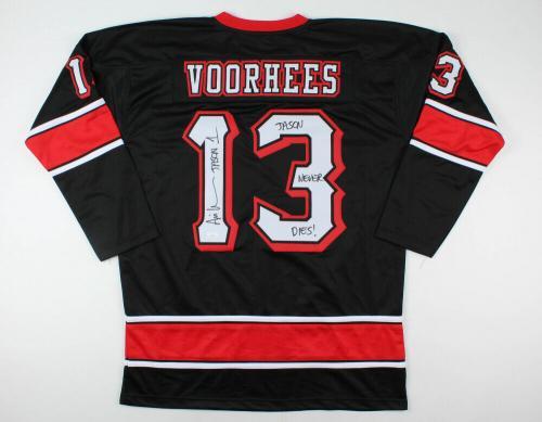 Ari Lehman Autographed Jason Voorhees Jersey (friday The 13th) - Jsa Coa!