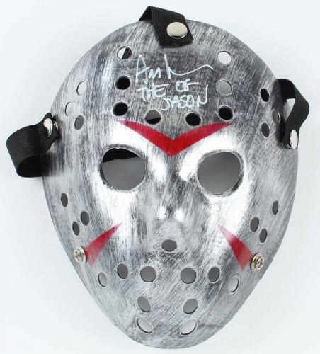Ari Lehman Autographed Friday The 13th  Mask (jason Voorhees) - W/ Proof!